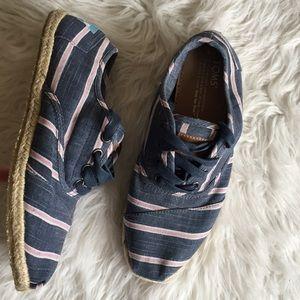Toms Canvas Espadrille Sneaker